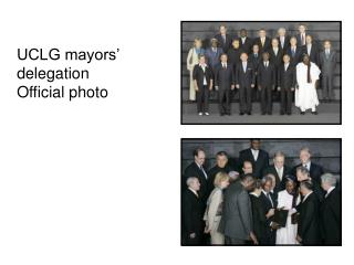 UCLG mayors' delegation Official photo