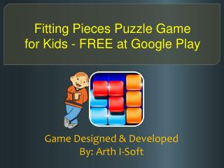 Fitting Pieces Puzzle Game for Kids - FREE at Google Play