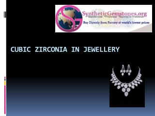 High Quality Cubic Zirconia