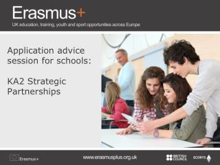Application advice session for schools: KA2 Strategic Partnerships