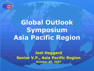 Global Outlook Symposium Asia Pacific Region