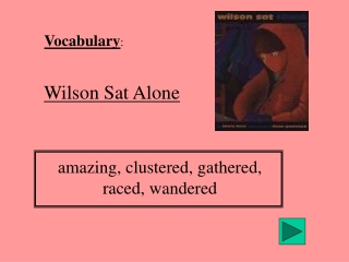 Vocabulary :