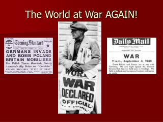 The World at War AGAIN!