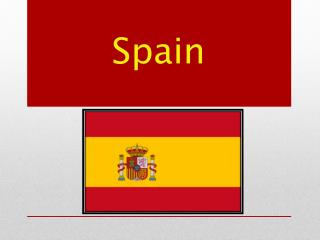 Spain officially the Kingdom of Spain