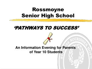 Rossmoyne  Senior High School