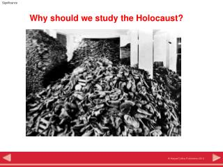 Why should we study the Holocaust?
