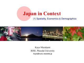 Japan in Context