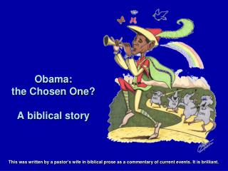 Obama: the Chosen One? A biblical story