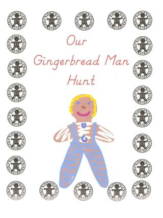 On the first day, we read the story about the gingerbread man. 1.