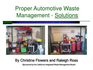 Proper Automotive Waste Management -  Solutions