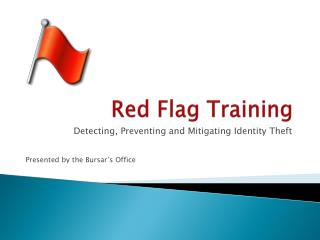 Red Flag Training