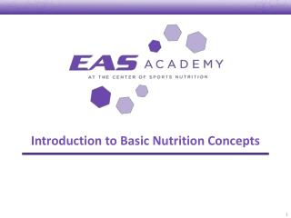 Introduction to Basic Nutrition Concepts