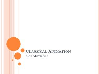 Classical Animation