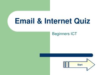 Email & Internet Quiz