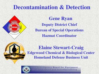Decontamination & Detection