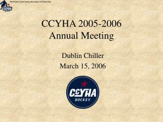 CCYHA 2005-2006 Annual Meeting
