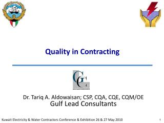 Quality in Contracting