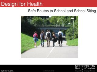 Design for Health