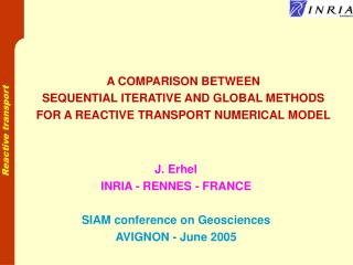 A COMPARISON BETWEEN SEQUENTIAL ITERATIVE AND GLOBAL METHODS