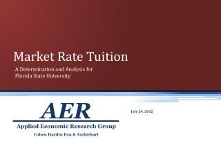 Market Rate Tuition