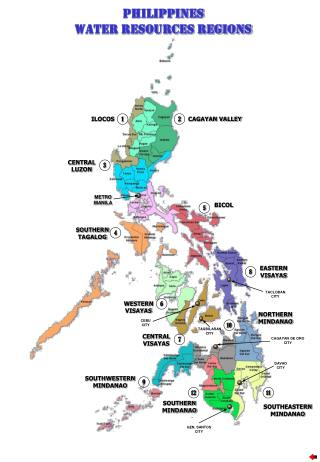 PHILIPPINES WATER RESOURCES REGIONS