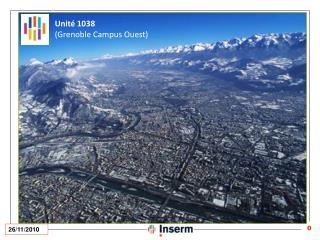 Unité 1038 (Grenoble Campus Ouest)