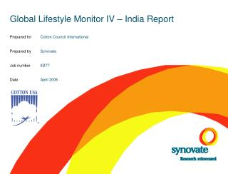 Global Lifestyle Monitor IV – India Report