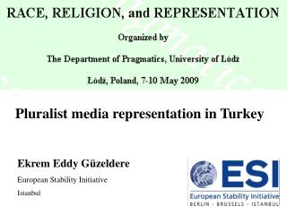 Pluralist media representation in Turkey