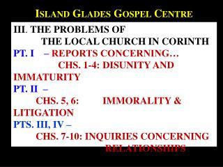 Island Glades Gospel Centre