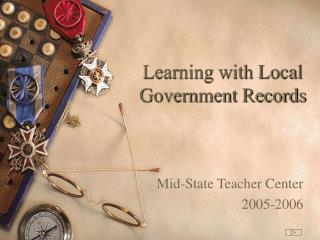 Learning with Local Government Records