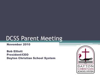 DCSS Parent Meeting