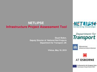 NETLIPSE Infrastructure Project Assessment Tool