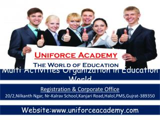 Uniforce Academy The World of Education