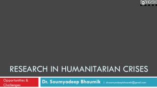 Research in humanitarian crises