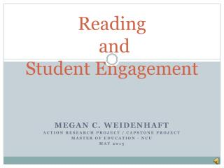 Reading   and  Student Engagement