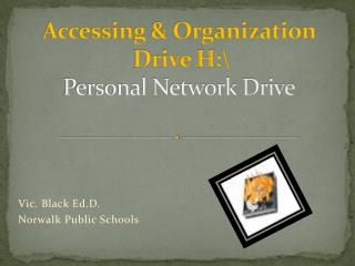 Accessing & Organization  Drive H:\ Personal Network Drive