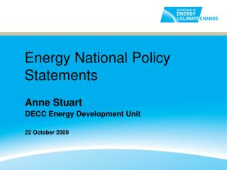 Energy National Policy Statements