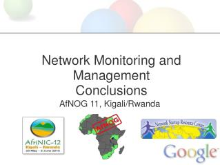 Network Monitoring and Management Conclusions