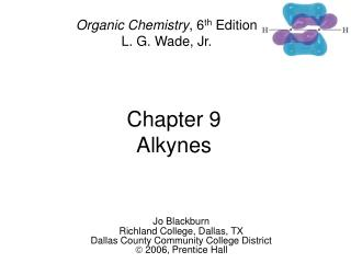 Chapter 9 Alkynes