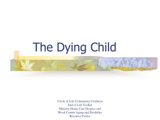 The Dying Child