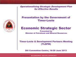 Economic Strategic Sector