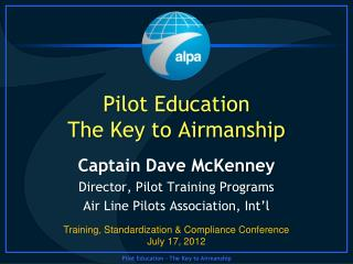Pilot Education  The Key to Airmanship