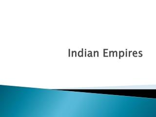 Mauryan Empire Unifies India