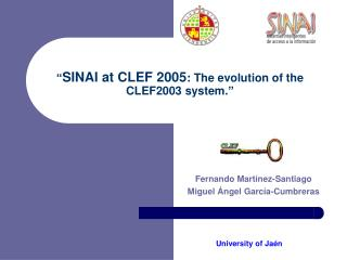 """ SINAI at CLEF 2005 : The evolution of the  CLEF2003 system."""