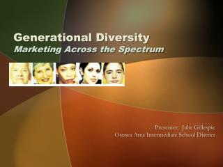 Generational Diversity Marketing Across the Spectrum