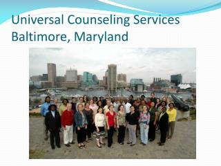 Universal Counseling Services Baltimore, Maryland
