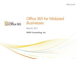 Office 365 for Midsized Businesses