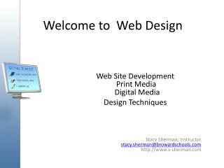 Welcome to  Web Design