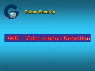 VMD – Video motion Detection