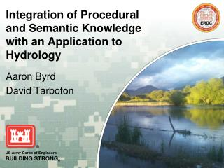 Integration of Procedural and Semantic Knowledge with an Application to Hydrology